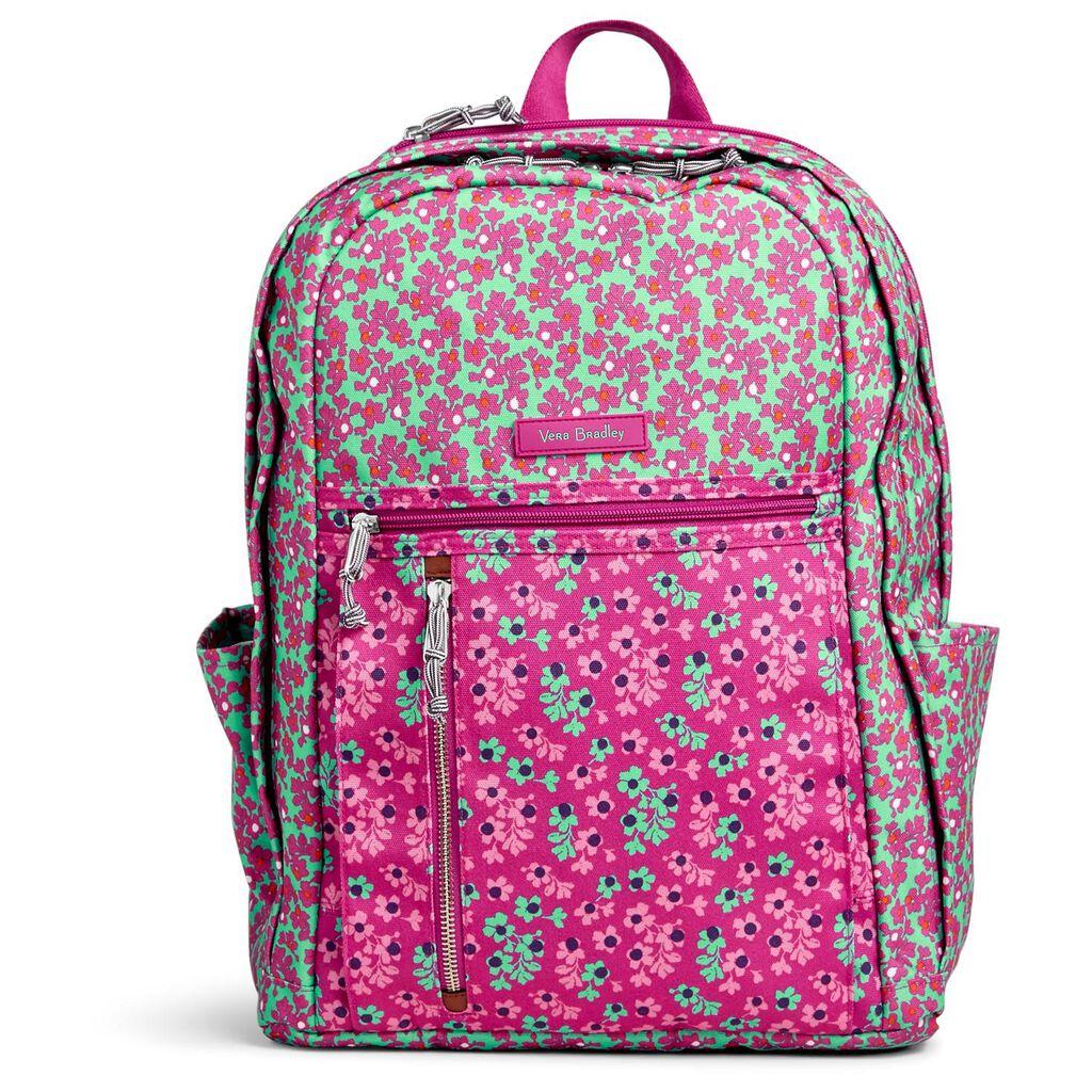 Vera Bradley Lighten Up Grand Backpack in Ditsy Dot - Handbags   Purses -  Hallmark 21fd86db3da19