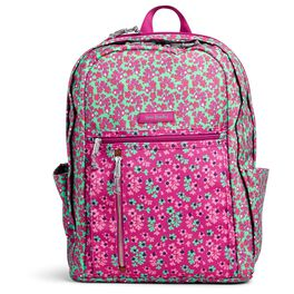 Vera Bradley Lighten Up Grand Backpack in Ditsy Dot, , large