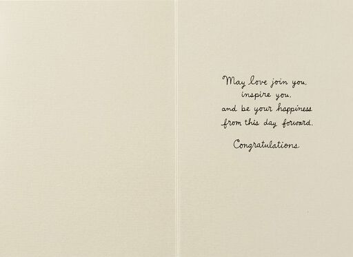 From This Day Forward Wedding Card,