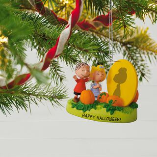 PEANUTS® The Great Pumpkin Rises Sound Ornament With Light,