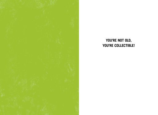Collectible Not Old Funny Birthday Card,