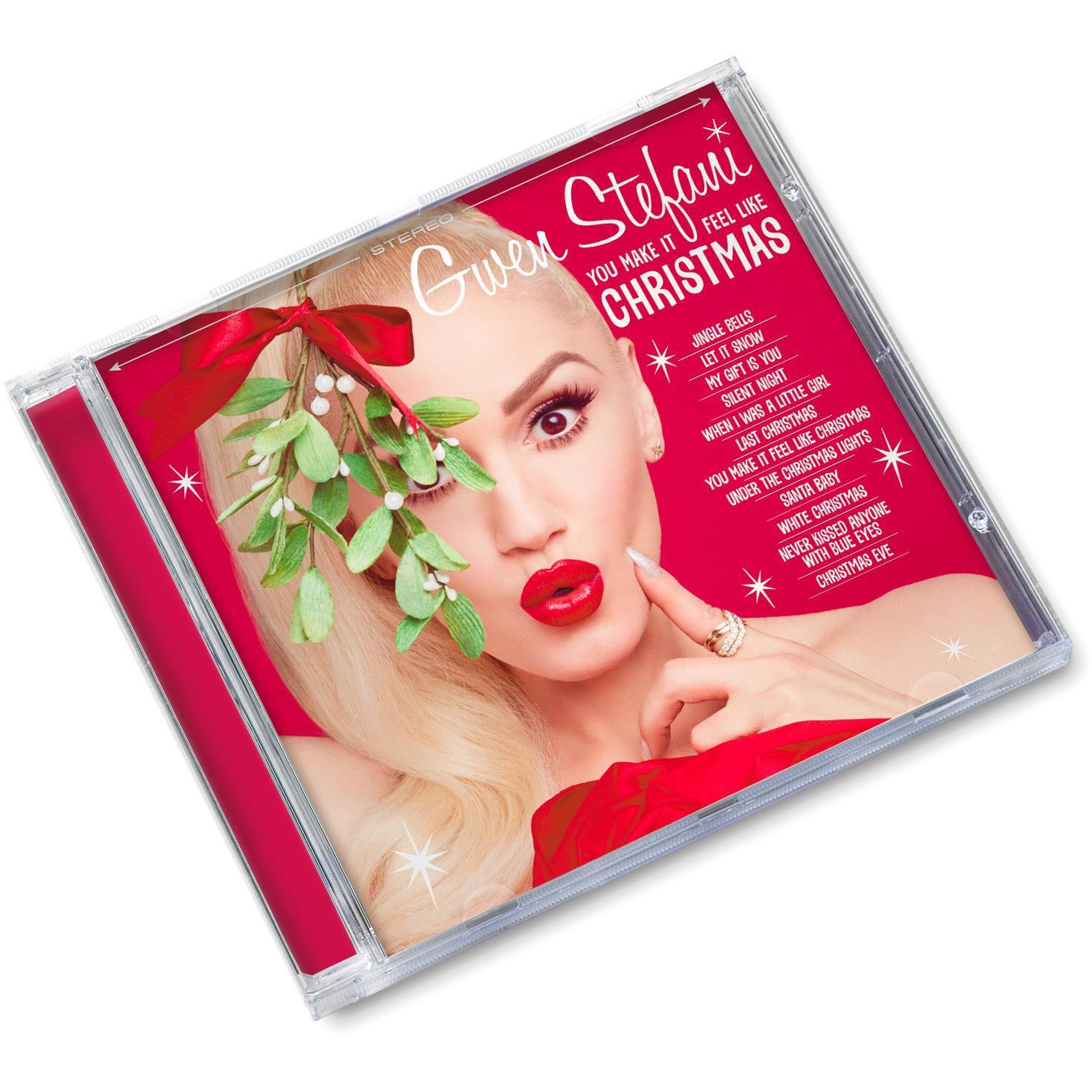 Gwen Stefani Christmas Cd.You Make Me Feel Like Christmas By Gwen Stefani Cd