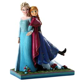 Jim Shore Sisters Forever—Elsa and Anna from Frozen Figurine, , large
