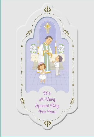 Your Special Day First Communion Card