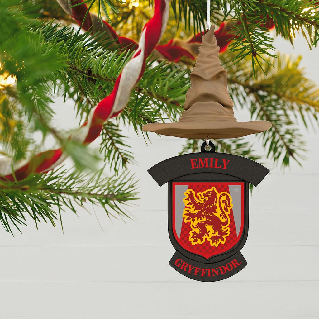 Harry Potter Sorting Hat Personalized Ornament