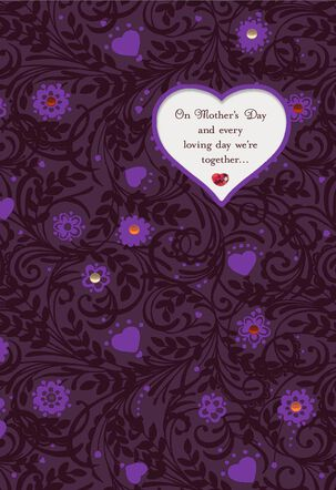 Grateful We're Together Romantic Musical Mother's Day Card