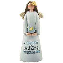 Sister A Lifelong Friend Angel Figurine, , large