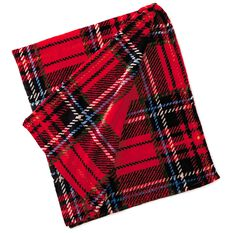 Holiday Plaid Throw Blanket 50x60 Pillows Amp Blankets