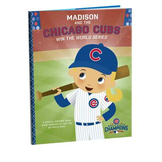 Chicago Cubs™ World Series™ Personalized Book,