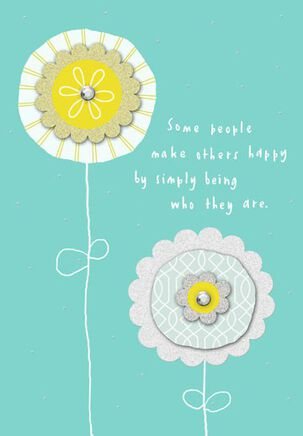Simply Being You Birthday Card