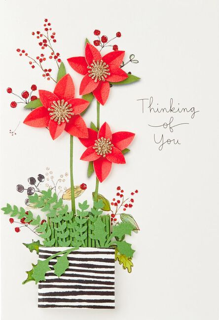 Thinking of you christmas card greeting cards hallmark thinking of you christmas card m4hsunfo