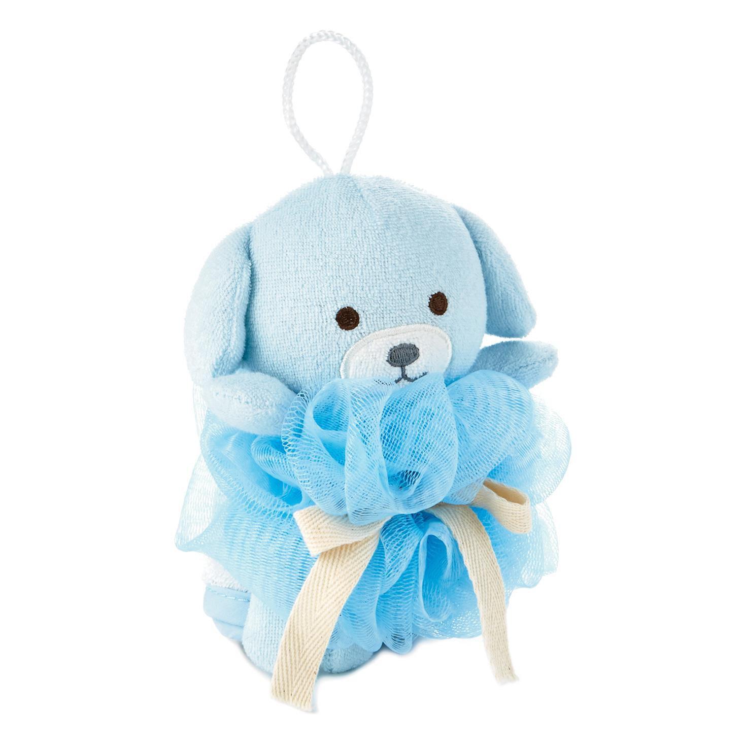 Puppy Loofah and Washcloth Baby Bath Set - Baby Essentials - Hallmark