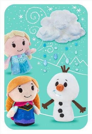 Frozen itty bittys® Greetings Just Because Card