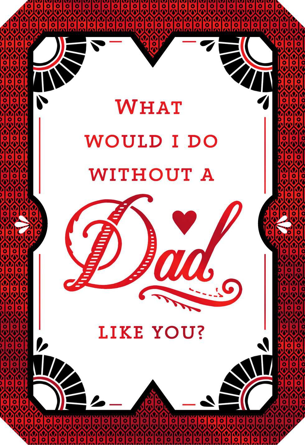 A Dad Like You Valentineu0027s Day Card