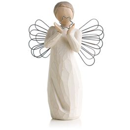 Willow Tree® Bright Star Angel Figurine, , large
