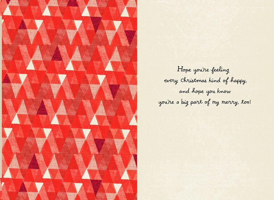 Jolly Merry Joyful Christmas Card - Greeting Cards - Hallmark