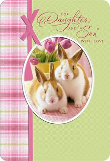 Joy Together Easter Card Daughter and Son-in-Law,