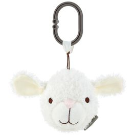Lamb Stuffed Animal Car Seat and Stroller Toy, , large
