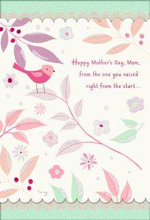 Welcomed Into Your Heart Mother's Day Card,