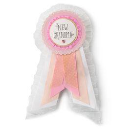 New Grandma Brag Badge—Girl, , large