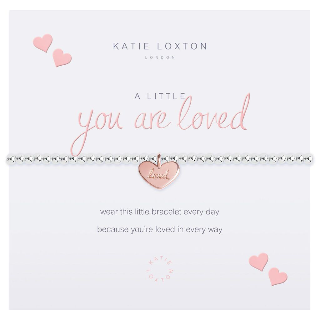 bbbaae22938f6 Katie Loxton A Little You Are Loved Silver Bracelet