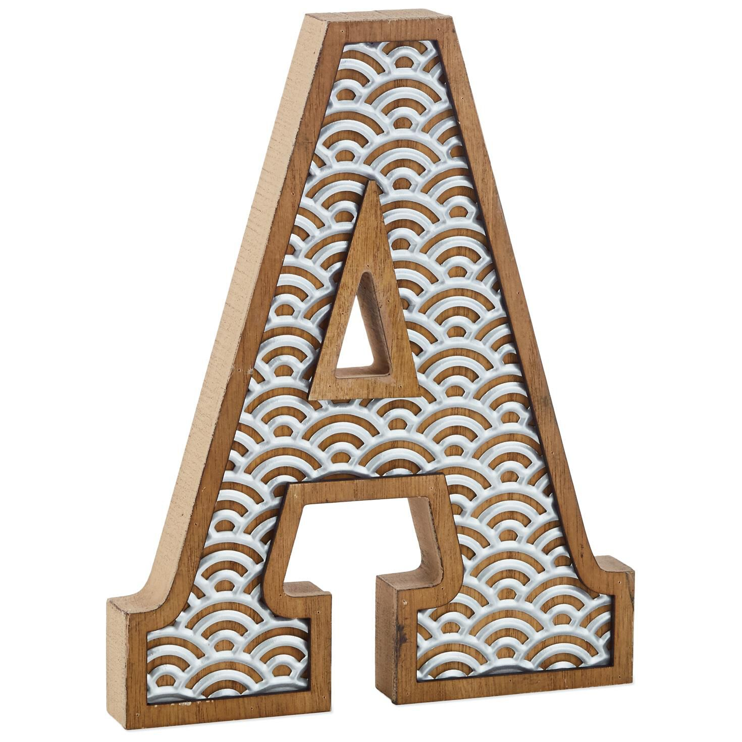 search for wooden letters hallmark