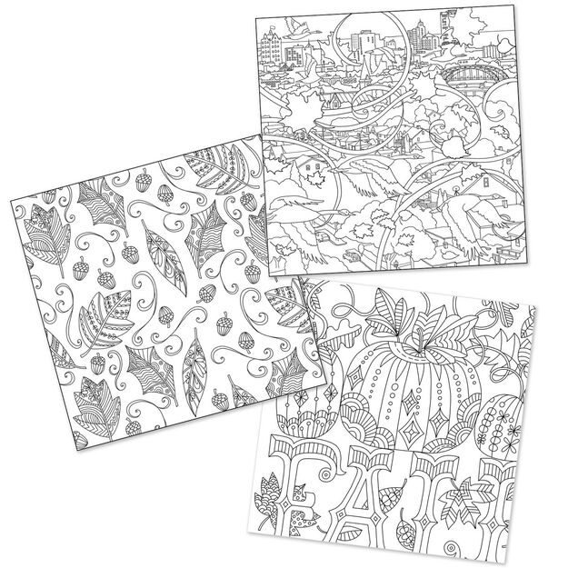 the art of the seasonsa coloring book by hallmark artists - Artist Coloring Books