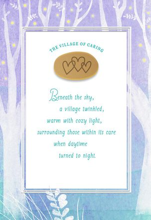 The Village of Caring Encouragement Card