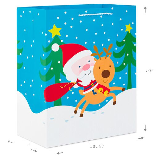 1572ff4dbf ... Christmas Cheer 3-Pack Large Gift Bags With Tissue Paper