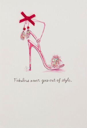 Fabulous Style Birthday Card
