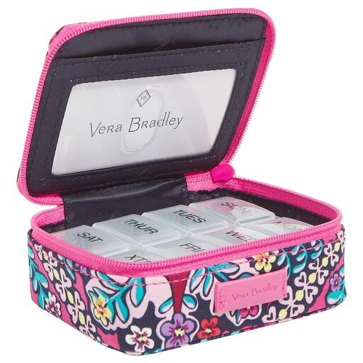 a5a095c2cc04 Vera Bradley Iconic Travel Pill Case in Kaleidoscope