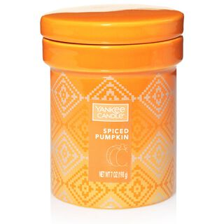 Spiced Pumpkin Ceramic Crock Candle by Yankee Candle®,