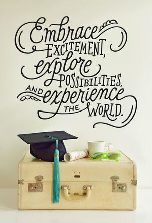 Travel-Ready Graduate Greeting Card