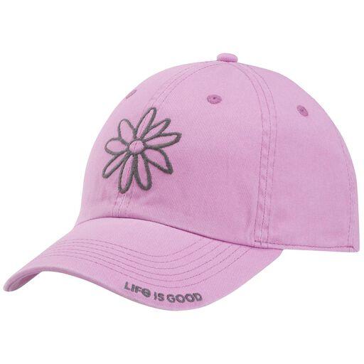 0679e83c7d1 Life is Good Women s Daisy Pale Purple Baseball Cap ...