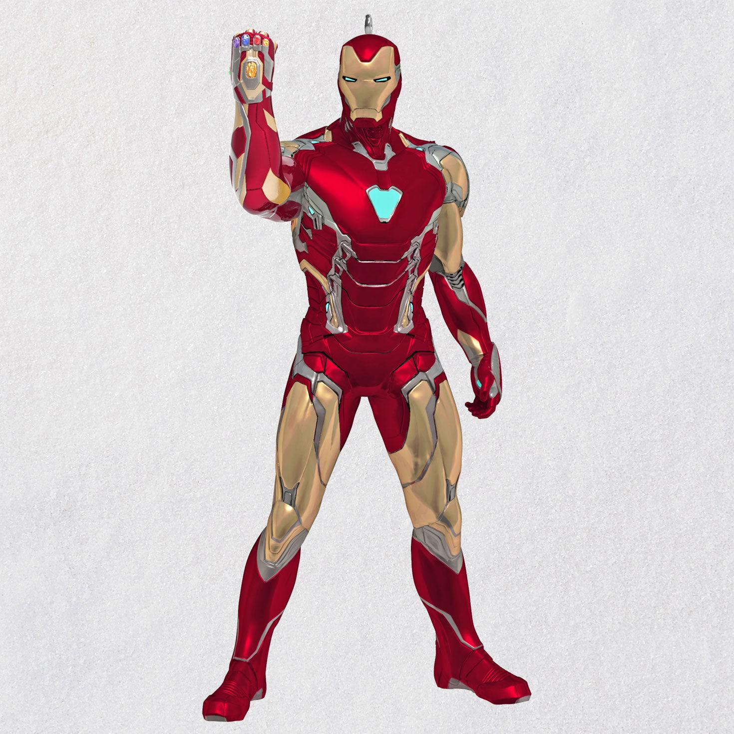 Marvel Avengers Metal Ornament 2019 Hallmark Ornament IRON MAN New In Box
