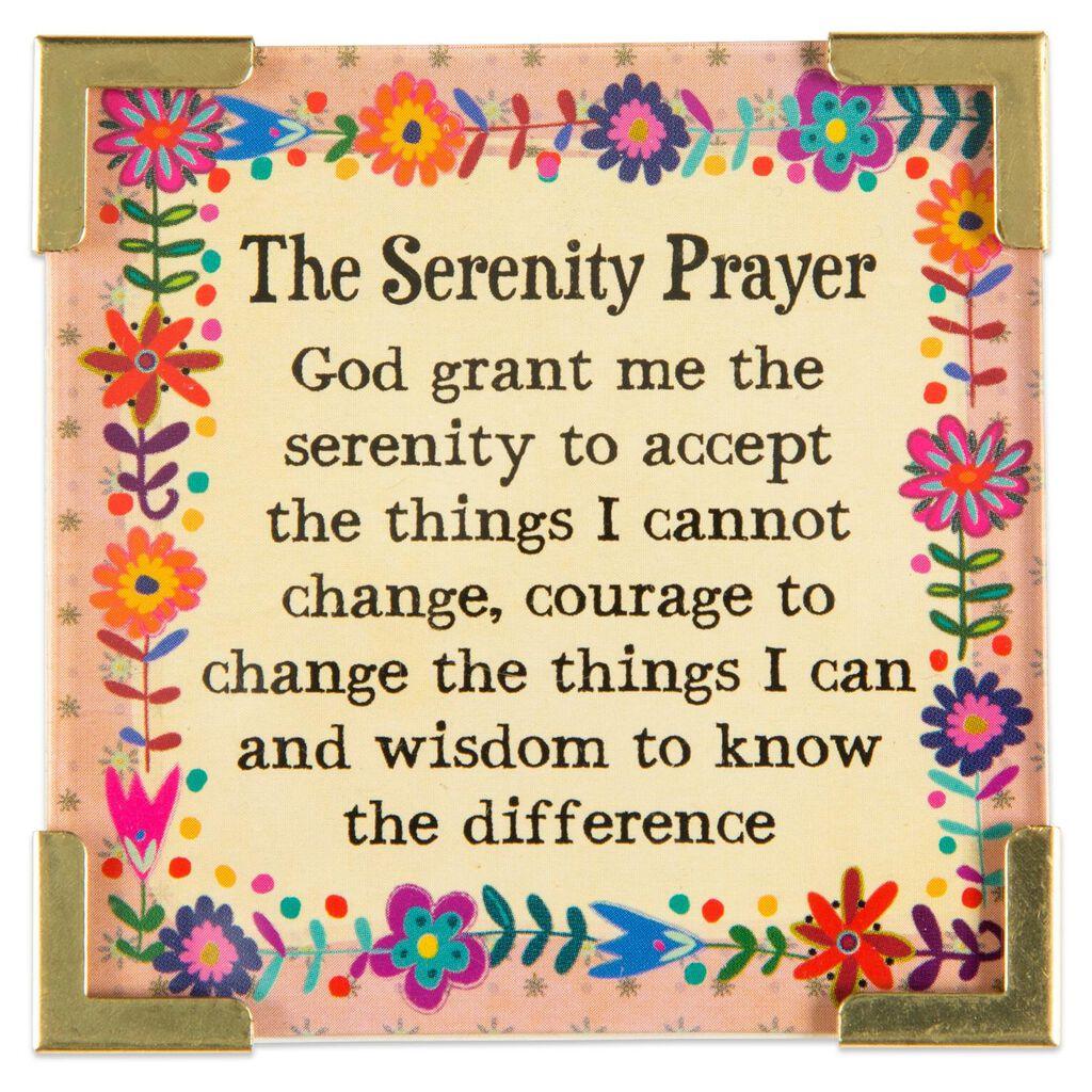 Natural Life Corner Magnet Serenity Prayer - Decorative Accessories ...