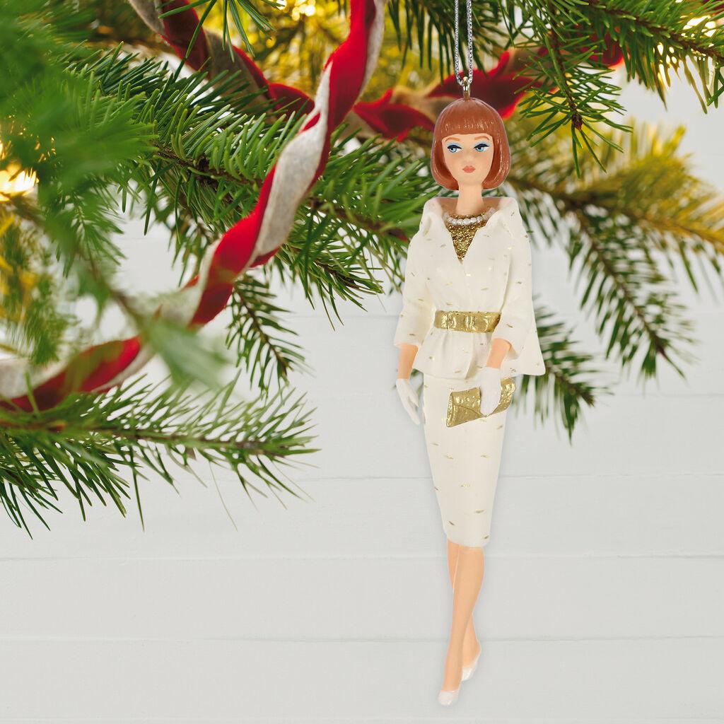 Barbie Christmas Ornament.Barbie On The Avenue Ornament
