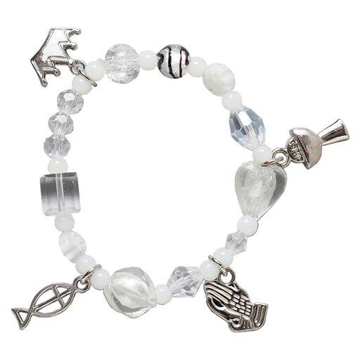08e3ca40a First Communion Story Charm Bracelet,