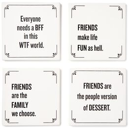 Friendship Coasters, Set of 4, , large