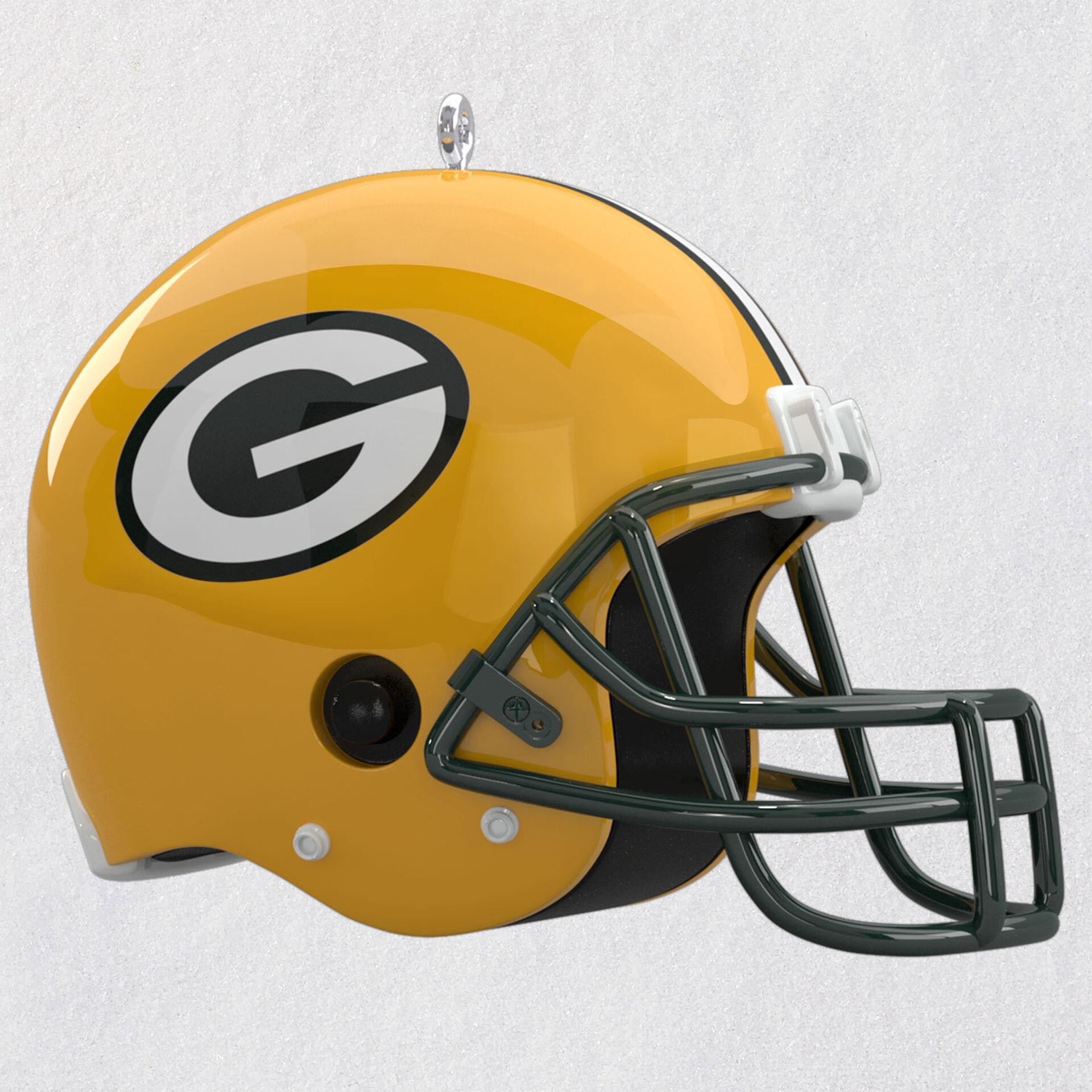 Nfl Green Bay Packers Helmet Ornament With Sound Keepsake Ornaments Hallmark