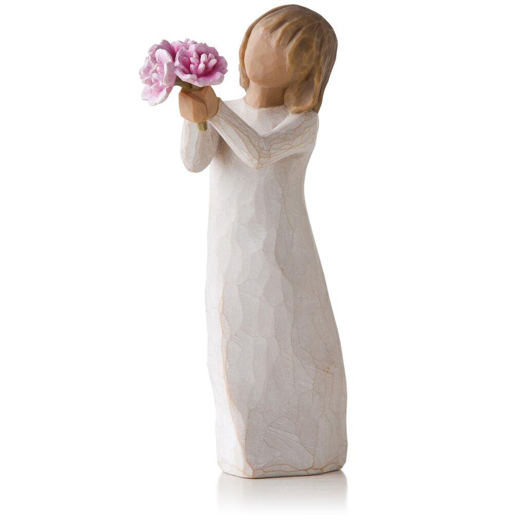 Willow tree pink peonies thank you flowers figurine figurines willow tree pink peonies thank you flowers figurine mightylinksfo