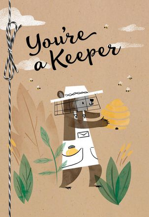 You're a Keeper Anniversary Card