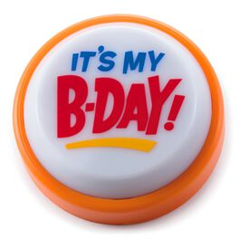 My Birthday Wearable Sound Button, , large