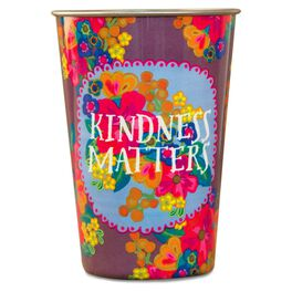 Natural Life Kindness Matters Stainless Steel Cup, 17 oz., , large