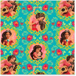 Disney Elena of Avalor Wrapping Paper Roll, 25 sq. ft., , large