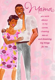 Mahogany african american cards gifts ornaments hallmark you never gave up mothers day card from son m4hsunfo Images