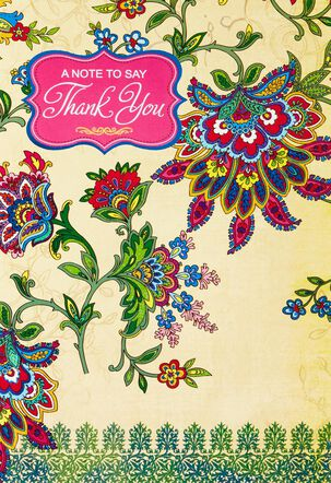 With Gratitude Thank You Card