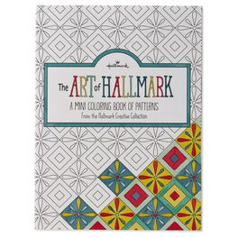The Art of Hallmark, A Mini Coloring Book of Patterns, , large