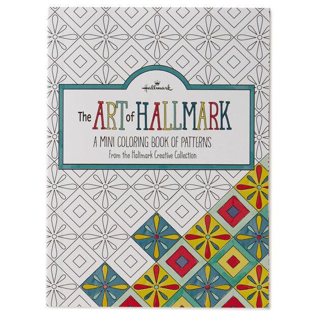 the art of hallmark a mini coloring book of patterns - Mini Coloring Books