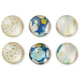 Artful Glass Magnets, Set of 6, , large